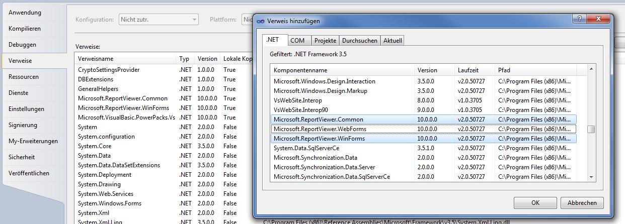 ReportViewer-Tutorial für Anfänger - Allgemeines - VB