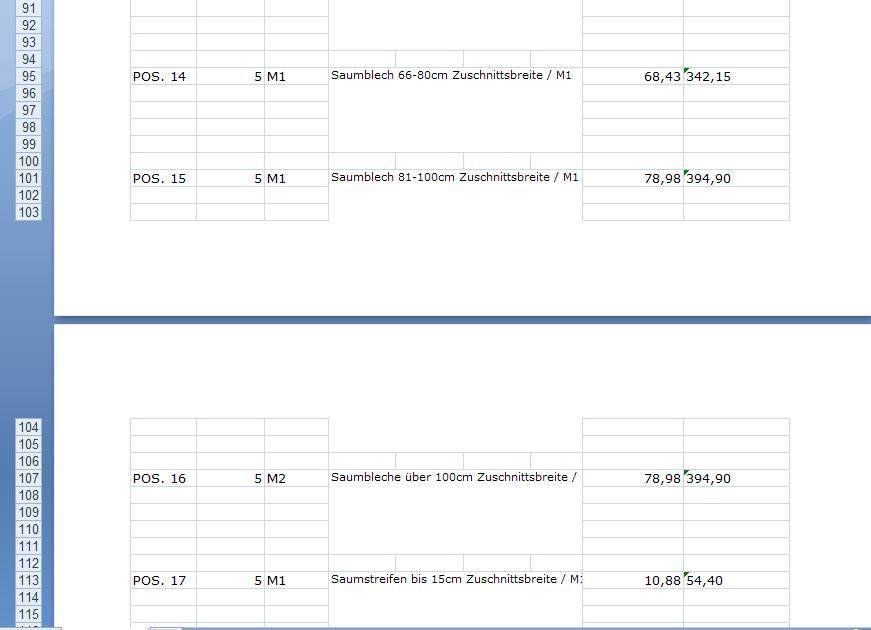 Excel Rechnung Erstellen Sonstige Problemstellungen Vb Paradise