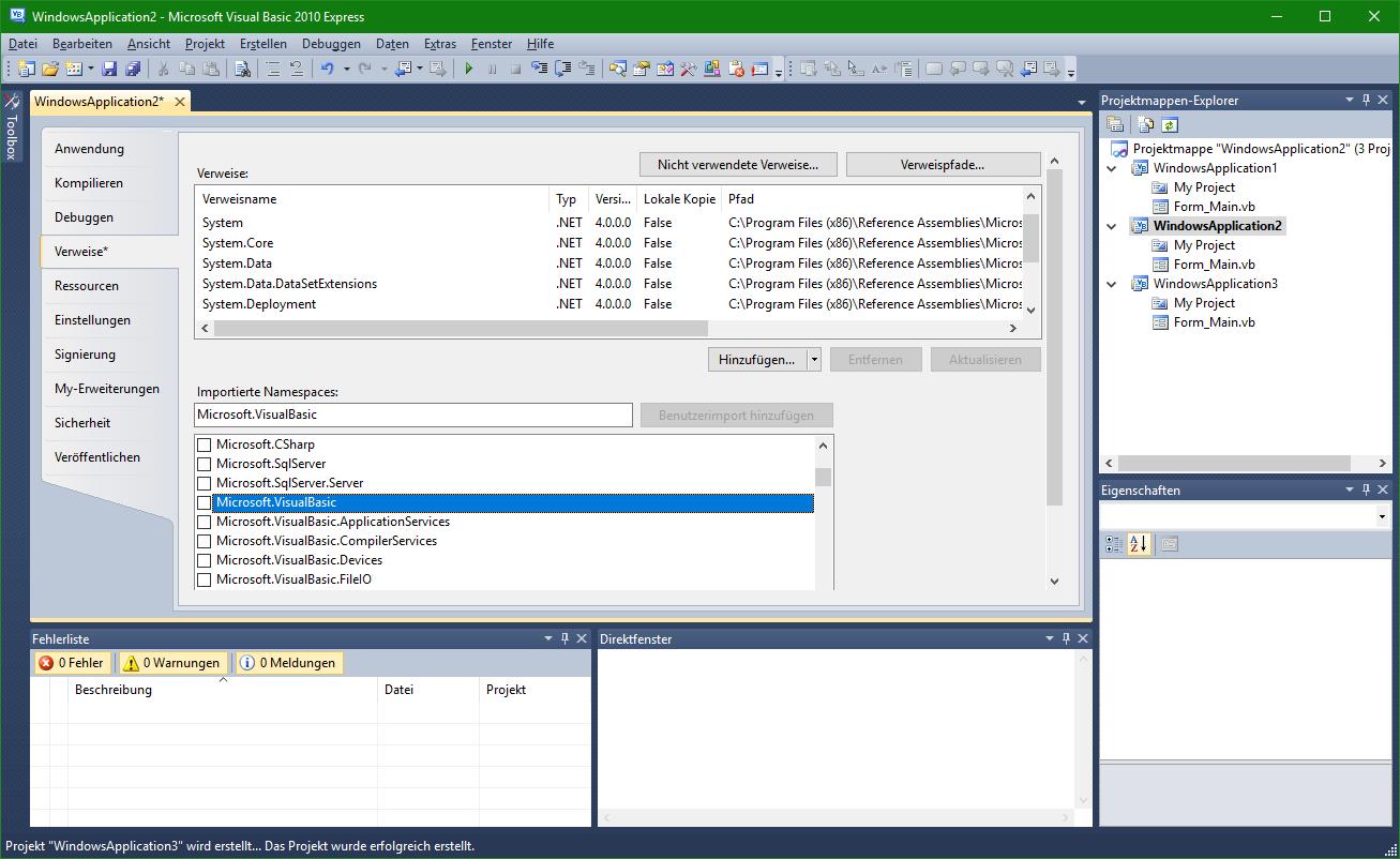 Visual Studio - Empfohlene Einstellungen - Allgemeines - VB-Paradise ...