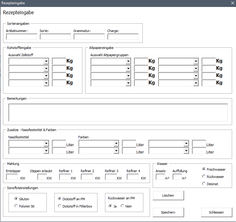 Datenbank per UserForm füllen in intelligente Tabellen - Visual ...
